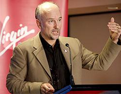 Brett Godfrey Business, Speaker