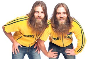 The Nelson Twins, Comedian