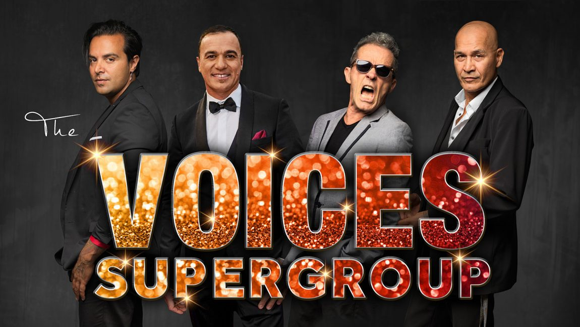 The Voices Supergroup available for EOY events.